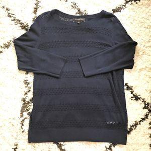 Banana Republic Navy Lightweight Sweater